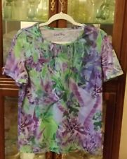 Coral Bay Blue Green Purple Short sleeve T Shirt