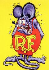 1960s Ed Roth's RAT FINK RF cartoon character replica magnet - new!
