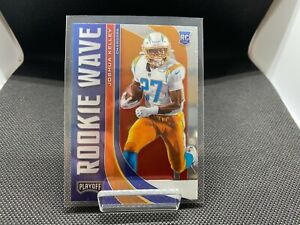 """Panini Playoff 2020 """"Rookie Wave"""" insert Los Angeles Chargers Joshua Kelly"""