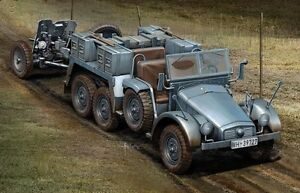 Dragon 7419 1/72 Plastic WWII German Krupp Protze Sd.Kfz. 69 and 37mm PaK 35/36