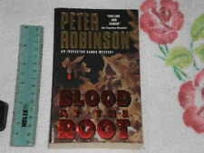 Blood at the Root by Peter Robinson  -Signed- -pb-