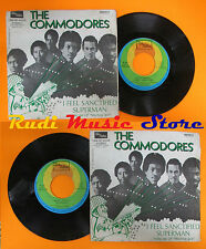 LP 45 7'' THE COMMODORES I feel sanctified Superman 1974 italy MOTOWN cd mc dvd