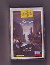 cassette audio gounod : faust - extraits - richard Bonynge