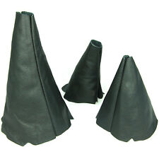 SET 3 LEATHER GEAR GAITER LAND ROVER DISCOVERY MK1 MK2