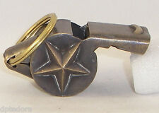 SOLID BRASS WORKING NYFD  WHISTLE