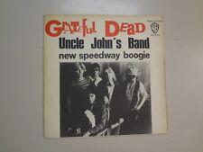 """GRATEFUL DEAD:Uncle John's Band-New Speedway Boogie-France 7"""" 70 Warner Bros.PSL"""