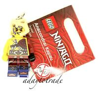 NEW LEGO Ninjago Minifigure Key Ring - Anacondrai Kapau - 851353 RBB