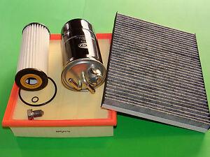Ölfilter Dieselfilter Luftfilter Pollenfilter Skoda Superb 3U TDI (77/85/103kW)