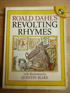 Roald Dahl's Revolting Rhymes (Picture Puffin) by Dahl, Roald Paperback Book 80s