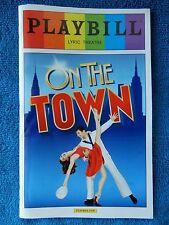 On The Town - Lyric Theatre Playbill - June 2015 - Tony Yazbeck - Johnson