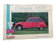 2CV Citroën Postkarten Buch 10 unterschiedliche Karten von 1993 Oldtimer