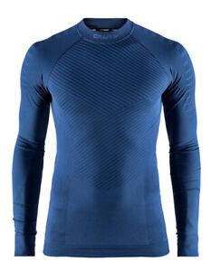 Funktionsshirt, Sportshirt CRAFT Intensity, Herren, Kompression, Langarm, blau