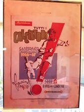 **TUTTI I CALCIATORI MIRA 1966/67** PELLICOLA DI STAMPA ORIGINALE DELL'ALBUM !!!