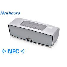 Henhaoro NFC Mini Bluetooth Portable Speaker System - White