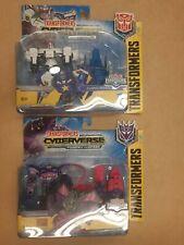 Transformers Cyberverse Spark Armor: Shockwave & Solar Shot + PROWL & COSMIC PRL