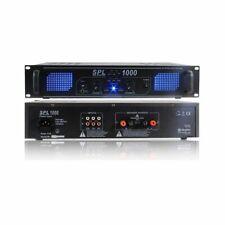Skytec SPL 1000 Amplificatore Audio  con 2  Canali - Nero
