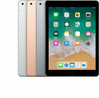 Apple iPad 6th Generation 32GB 128GB Wi-Fi + Cellular Gold Silver Space Gray