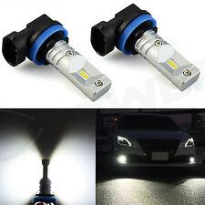 JDM ASTAR 2x H8 H11 LED Bulbs Driving Fog Lights Lamps DRL  6000K Xenon White