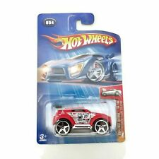 Hot Wheels 2004 First Editions, Mitsubishi Pajero Evolution #054 54/100, Red NEW