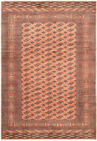 """Hand-knotted  Carpet 8'3"""" x 12'0"""" Pako Vintage Traditional Wool Rug"""