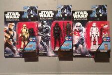 2016   x 3 - Star Wars Rogue One - DEATH  - SHORE - STORM trooper's ⭐️BNIB⭐️