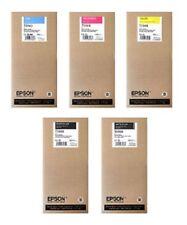 5 Original Tinte Epson Stylus Pro 7700 7900 /  T6421 T6422 T6423 T6424 T6428