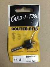 Carb-I-Tool T 1708  Rebating router bit