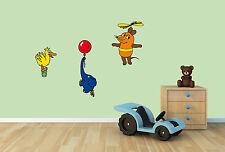 Wandsticker Wandtattoo Kinderzimmer Deko Die Maus Ente Elefant TV Serie Kult