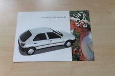 92276) Peugeot 306 XN XND Prospekt 12/1993