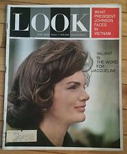 LOOK MAGAZINE JANUARY 28 1964 VALIANT WORD FOR JACQUELINE JOHNSON FACES VIETNAM