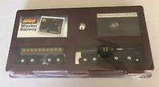 33426 BRIO Wooden Train Sealed 1st Edition Polar Express Set! 1995! Thomas