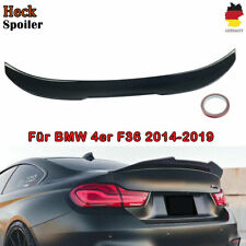 Sport Heckspoiler Heck Spoiler Schwarz Glanz passt für BMW 4er F36 PSM  style