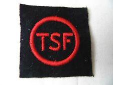 MARINE NATIONALE : INSIGNE TISSU SPECIALITE TSF EQUIPAGE