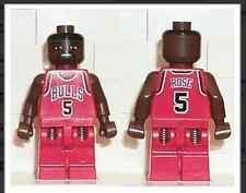 NBA Jalen Rose, Chicago Bulls #5 Lego mini figure