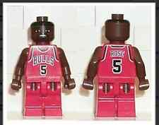 NBA Jalen Rose, Chicago Bulls #5 Lego mini figure