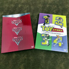 Cars 1-3 Movie Collection & Toy Story 1-4 Movie Collection DVD Ships 1st Class