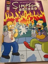 Simpsons Comics #115 'Hot Fun In The Wintertime!' (2006) Krusty Homer Cover