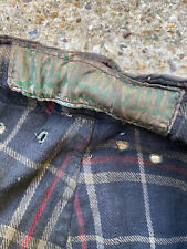 "Vintage J Barbour & Sons Ltd  Wax Trousers 30"" Waist for jacket"