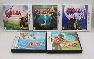 DS The Legend of Zelda Sunadokei & Daichi 3DS OCARINA Triforce 2 Majora 5Games