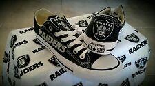 Oakland Raiders Converse MEN size 5