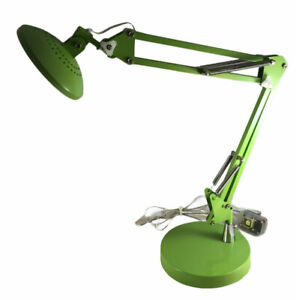 "Adjustable Lime Green LED Desk Lamp 23"" Tall 2.4 Watt Bulb"