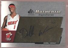 DORELL WRIGHT $20 MINT ROOKIE AUTO RC HEAT SP 2004-05 UD SIGNATURE AUTOGRAPH