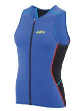 Louis Garneau Tri Comp Sl Triathlon Top Men Blue Size Xl