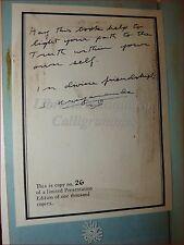 YOGA - THE PATH Autobiografia Swami KRIYANANDA 1977 con Dedica Autografa Autore