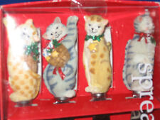 Kitty CAT Stainless Steel Spreaders  Partyware!  NIB