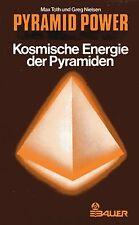 PYRAMID POWER - Kosmische Energie der Pyramiden - Max Toth & Greg Nielsen BUCH