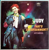 Schallplatte 33 Upm Judy THAT'S ENTERTAINMENT Jack Marshall