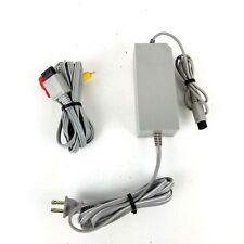 NINTENDO WII Genuine OEM RVL002 Power Cord AC Adapter and RVL009 AV Cables