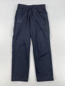 Under Armour Boys Armour Fleece Training Pants Black Size Youth Medium