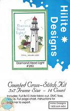 Cross Stitch Kit ~ Historic Lighthouse Diamond Head Light, HI #HD280 OOP SALE!